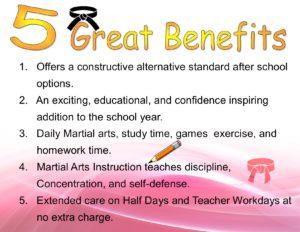 5 Great benefits